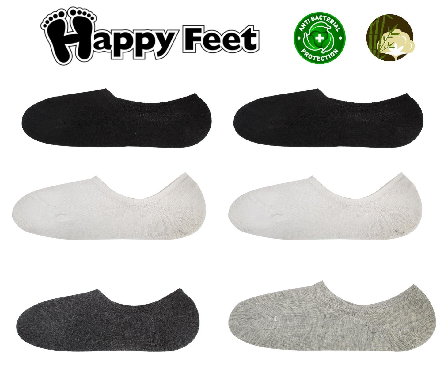 Happy Feet Pack of 6- 1031