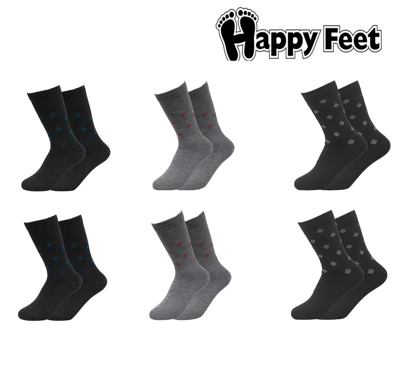 Happy Feet Pack of 6- 1057