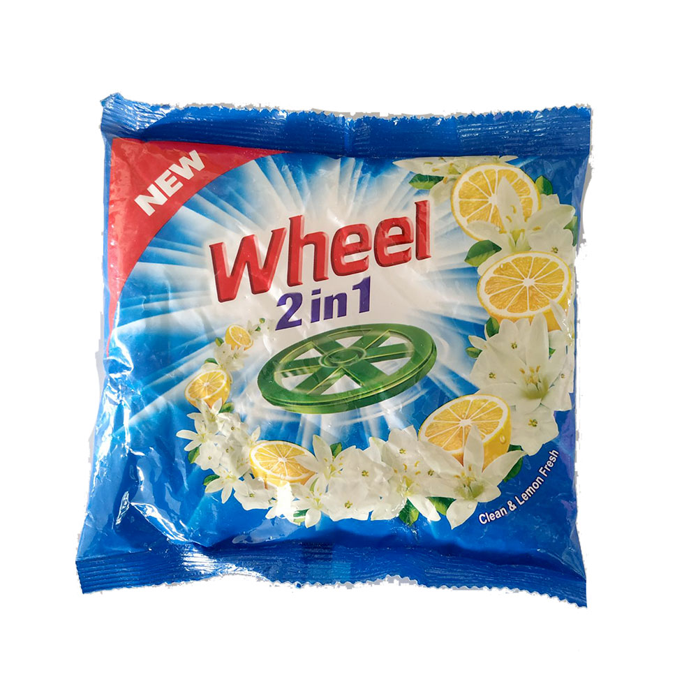 Wheel 2-In-1 Washing Powder, Clean & Fresh, 500gm