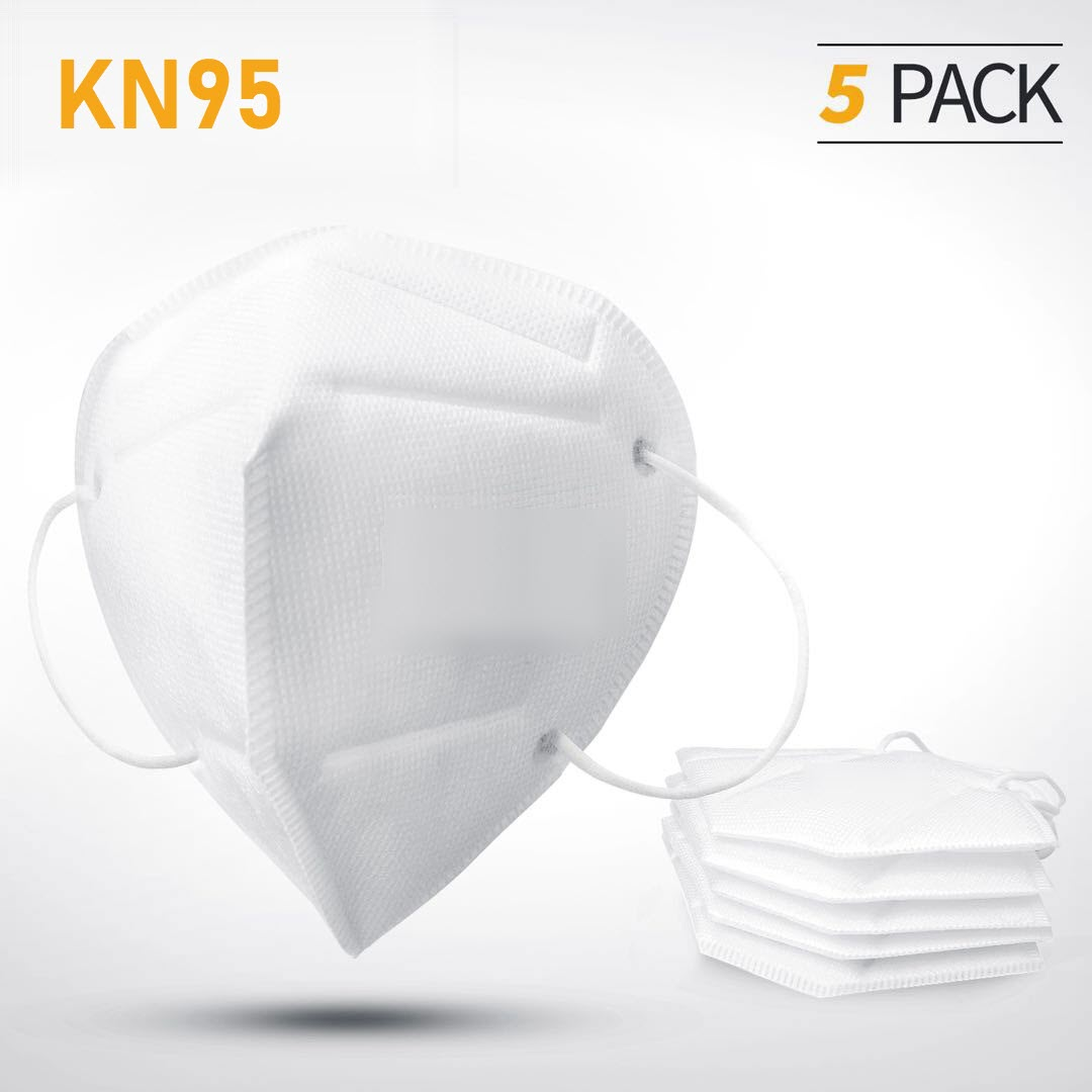 Pack of 5 KN95 Protection Mask (Without Breather)