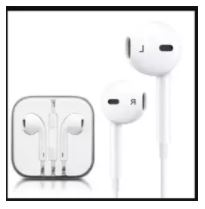 Earphone With Mic For Android & Ios Smartphones