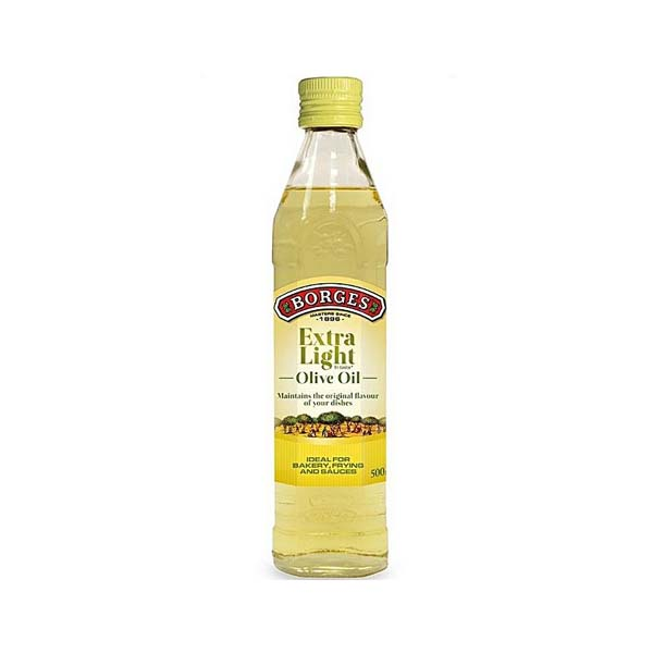 Borges Extra Light Olive Oil - 500 Ml