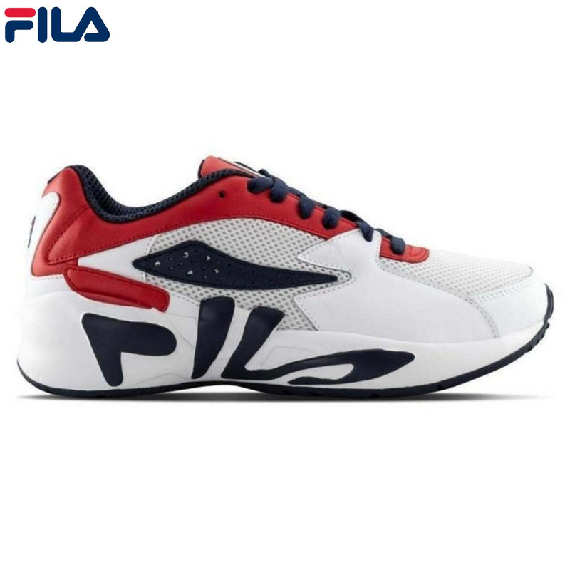 Fila Red / White / Navy Mindblower Sports Sneakers For Men -  1RM00378-616