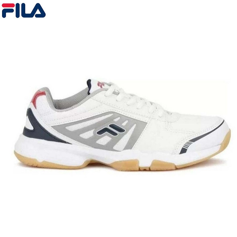 Fila White / Chines Red Ace Sports Sneakers For Men -  FW18ATAL174