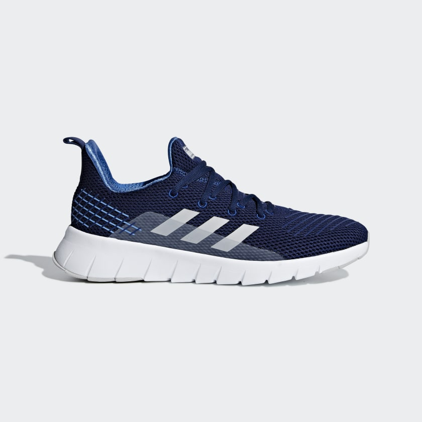 Adidas Dark Blue Asweego Running Shoes For Men F35444