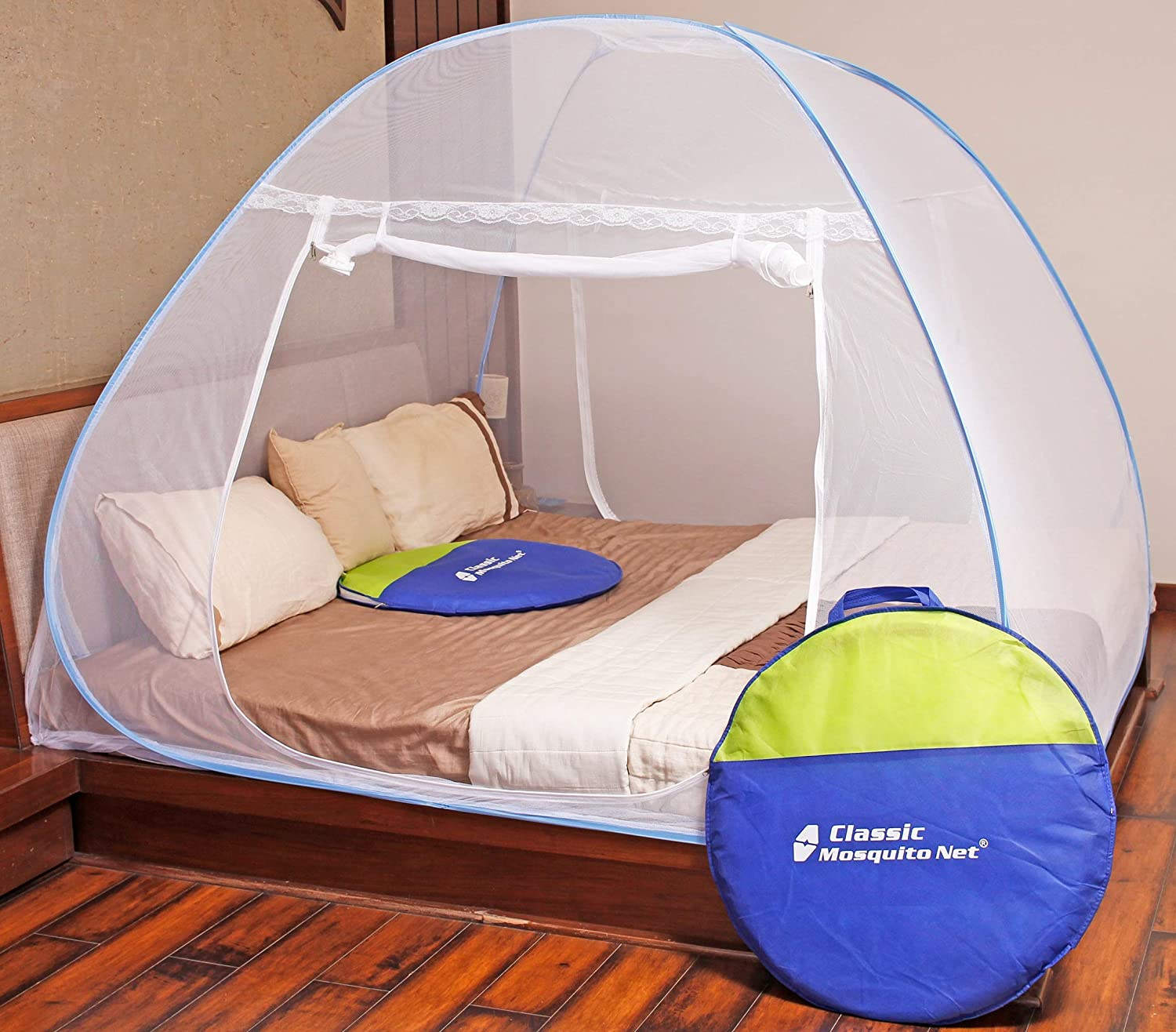 Classic Mosquito Net Polyester Adults Net Double bed Mosquito Net
