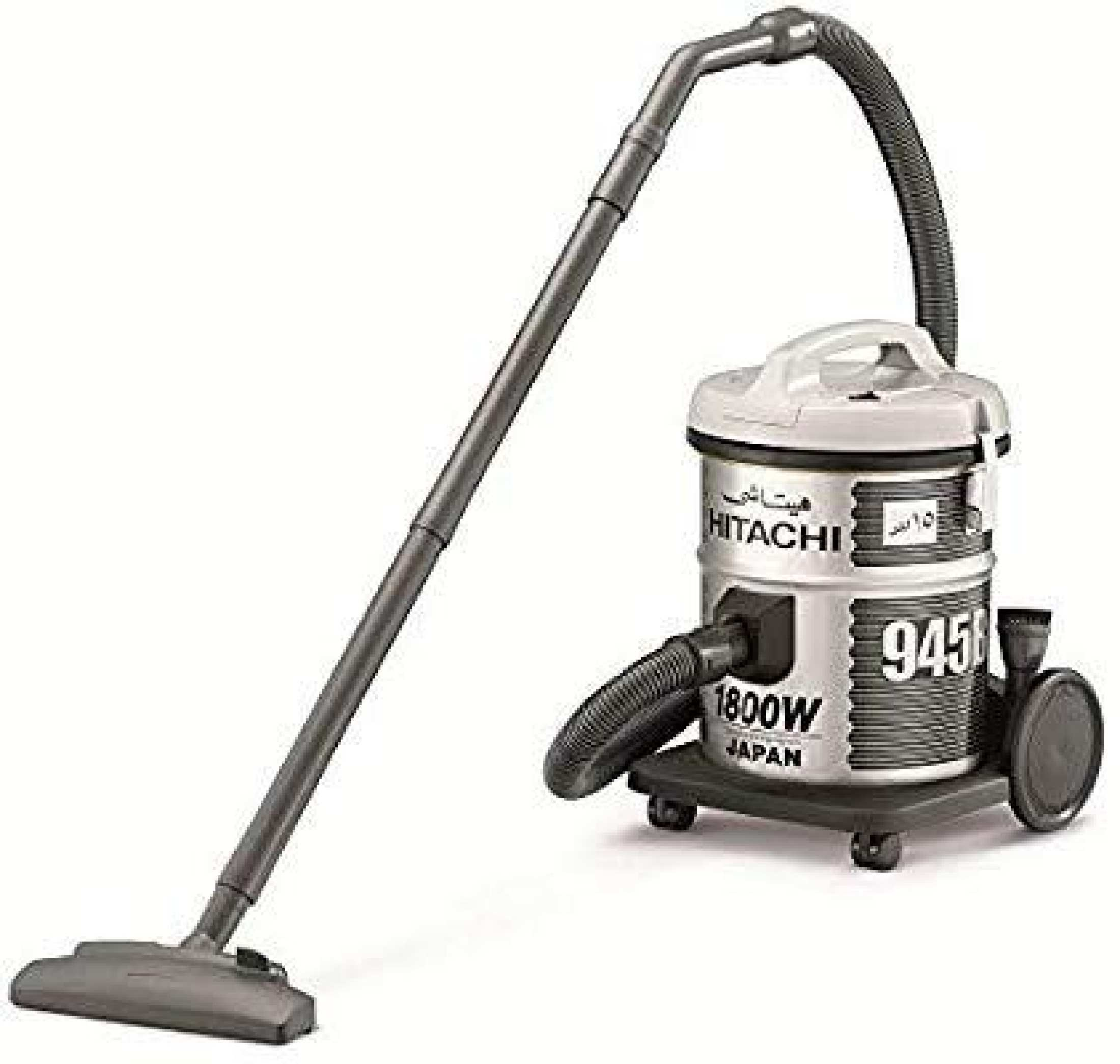 Hitachi 1800W Bag Type Vacuum Cleaner Platinum Grey Cv945(Pg)