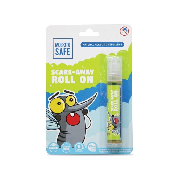 Moskito Safe Scare Away Natural Mosquito Repellent Roll On 10 ml