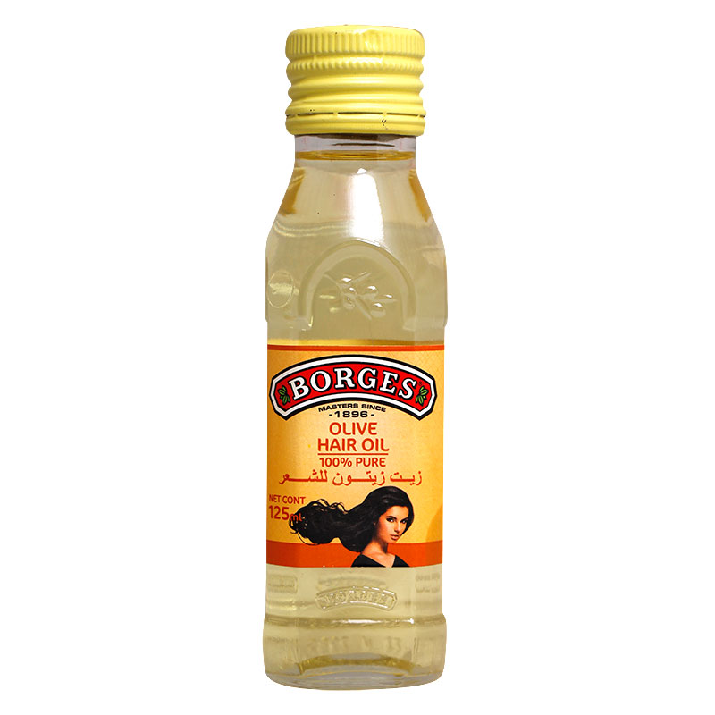 Borges Hair Olive Oil - 125Ml