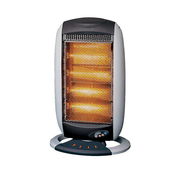 Colors Halogen Heater with Remote 1209R