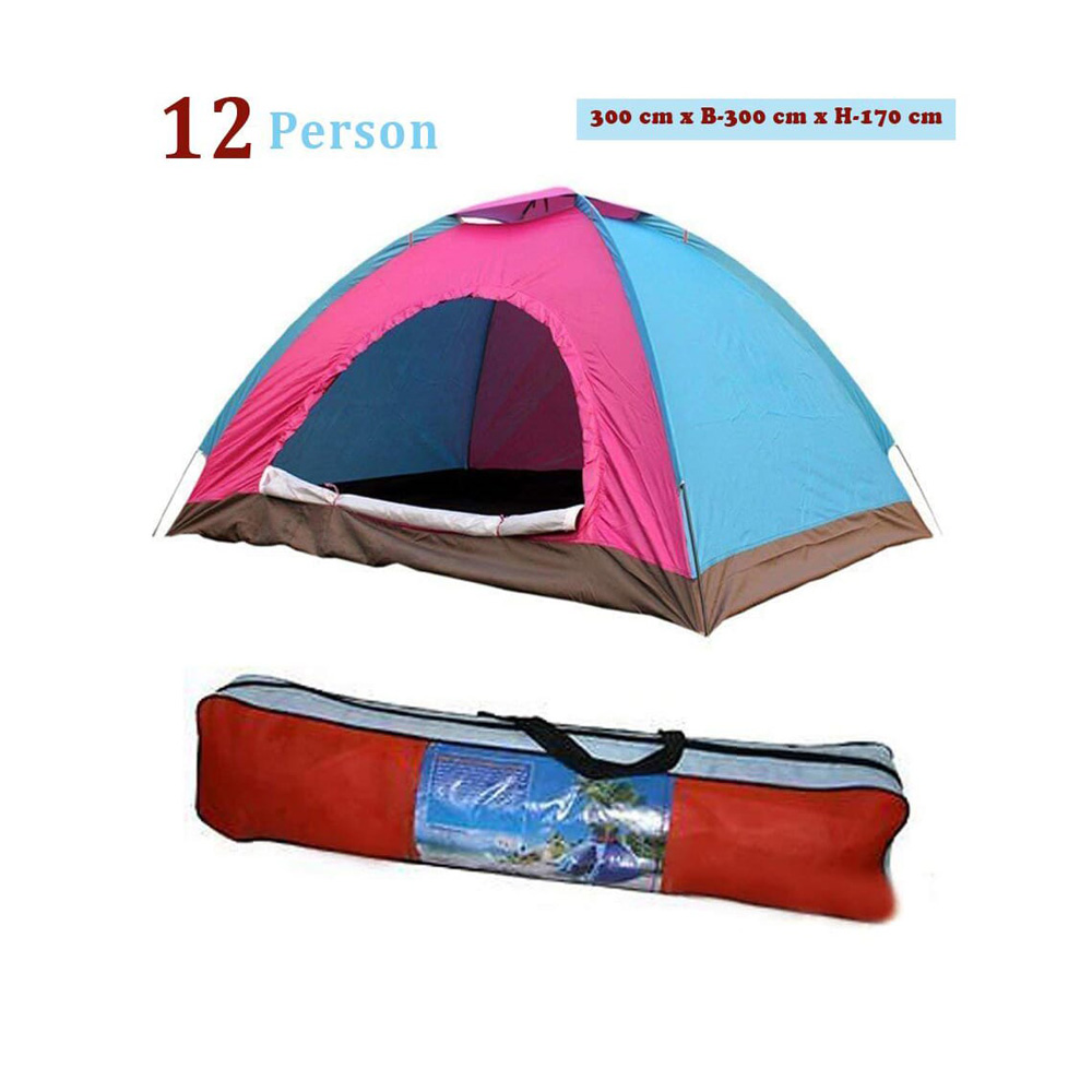 Camping Tent Trekking Tent Playing Tent Mosquito Tent Portable Waterproof  12 Persons