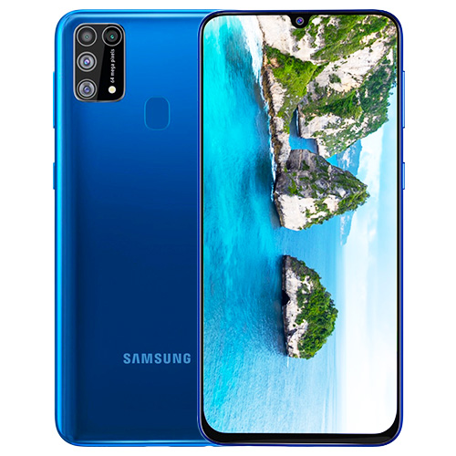 Samsung Galaxy M31 8GB RAM / 128GB ROM With 6000 mAh Battery - (Ocean Blue)