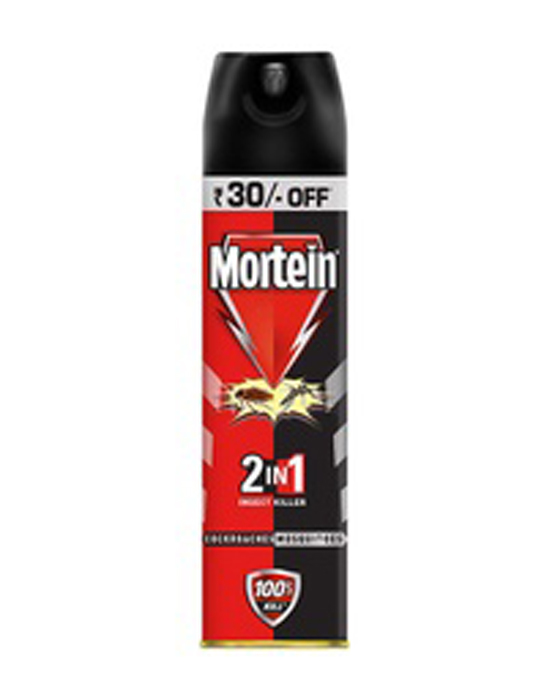 Mortein 2 in 1 Insect Killer [Cockroaches Mosquitoes] - 425ml