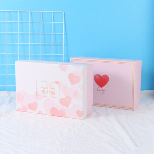 Adoration Series Square Gift Box With Light Set