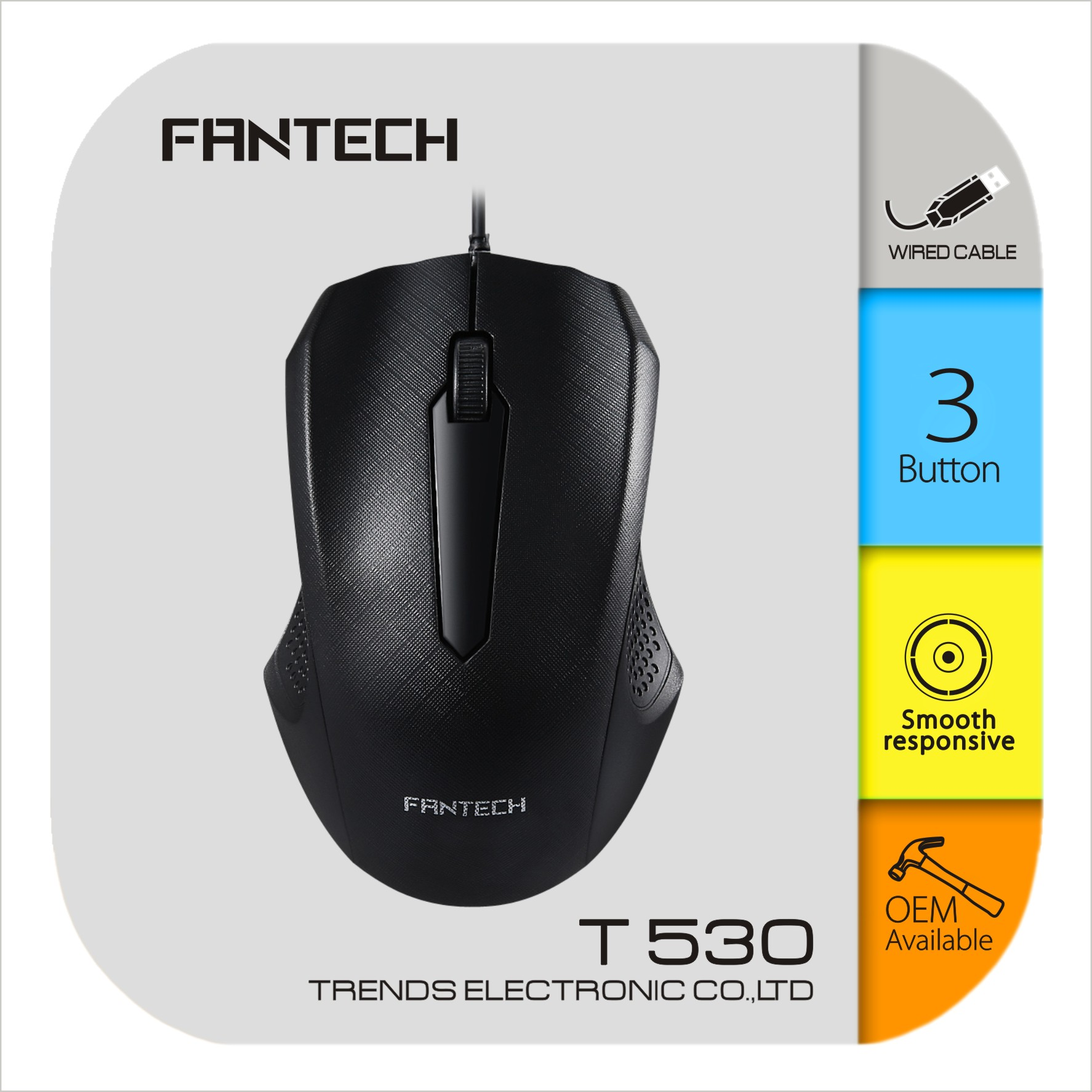 Fantech T530 Wired Mouse