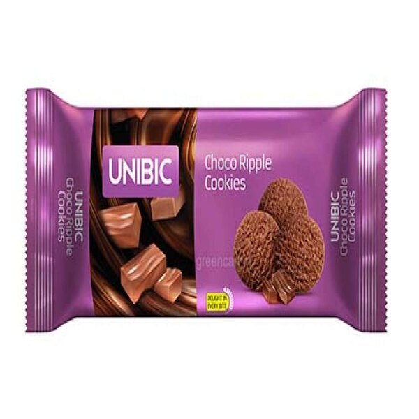 Unibis Choco Ripple Cookies 36Gm