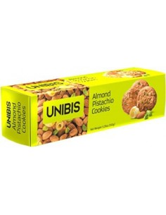Unibis Family Almond Pistachio Cookies - 150Gm