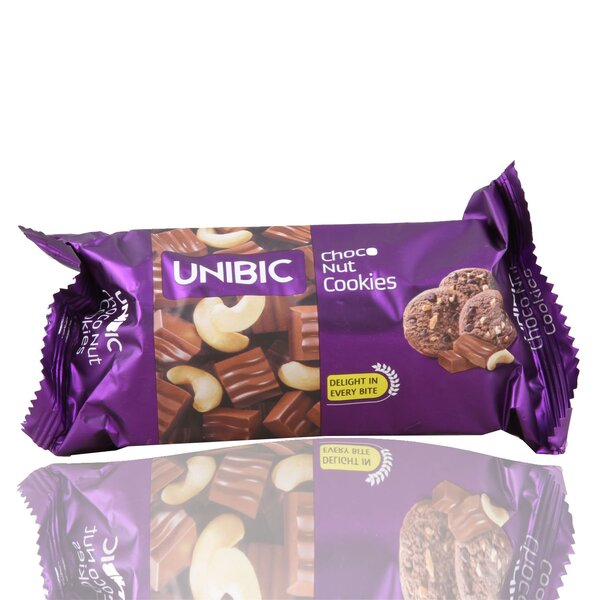 Unibis Choco Nuts Cookies 75Gm