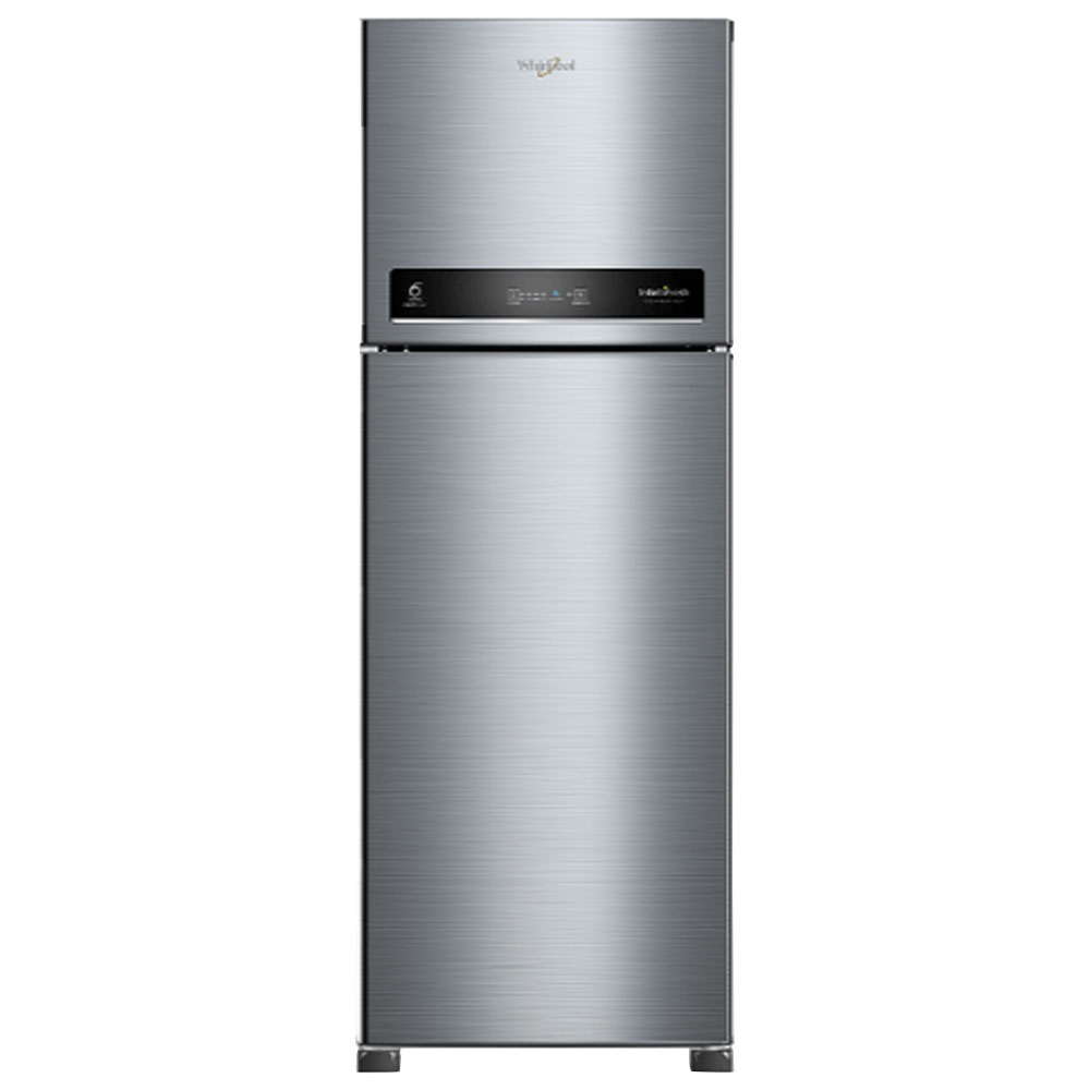 Whirlpool 265 L 2 Star Inverter Frost-Free Double Door Refrigerator (INTELLIFRESH INV CNV 278 3S, German Steel, Convertible)