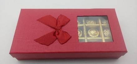 Red Chocolate Box 18 Pieces