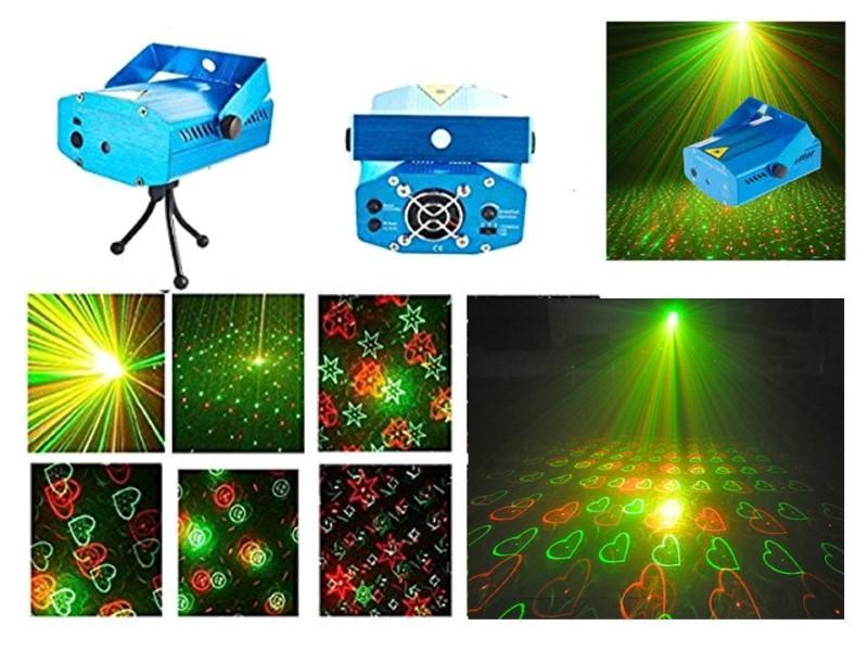 Led Mini Laser Projector Stage Lighting For Party And Dj
