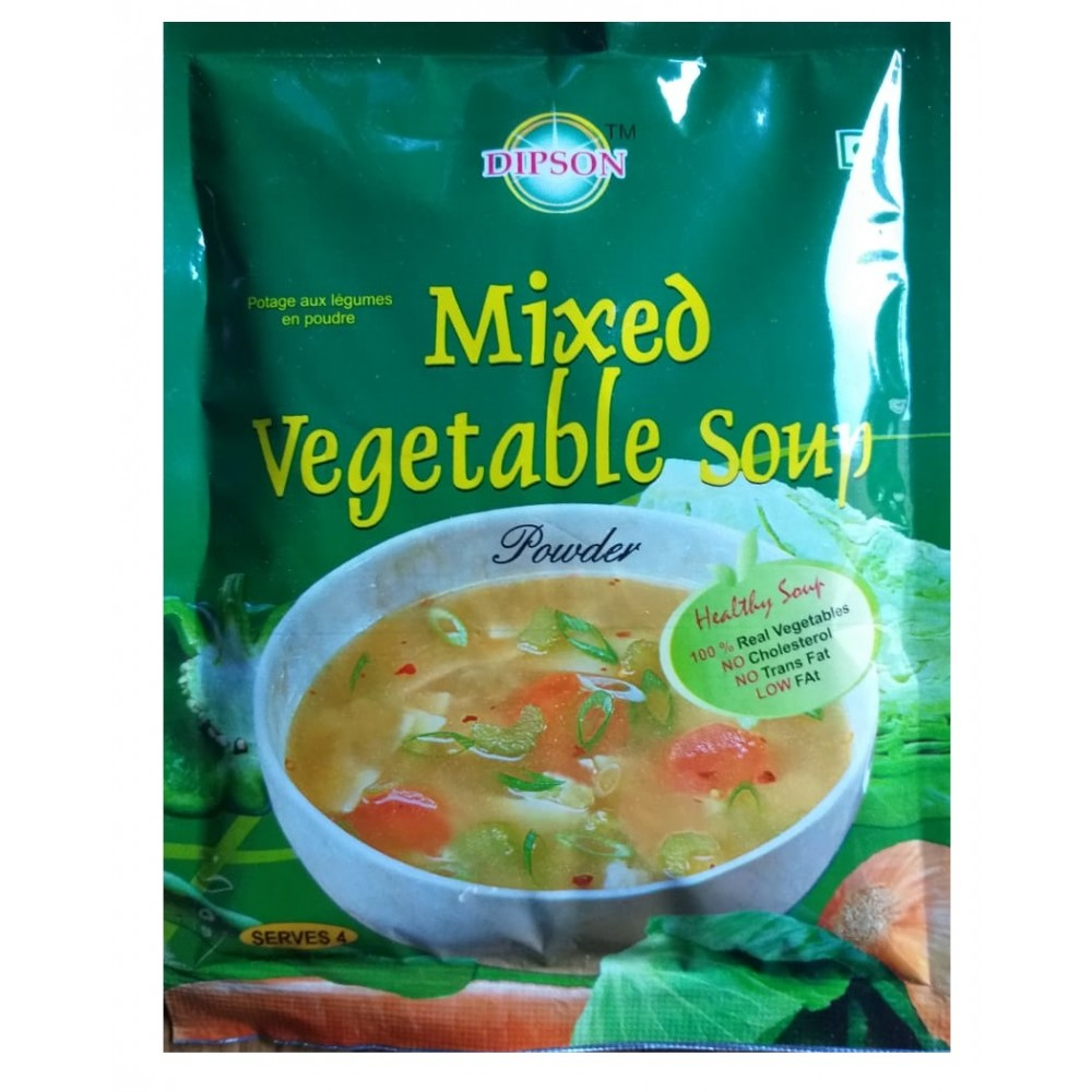 Dipson Mixed Vegetable Soup 45gm
