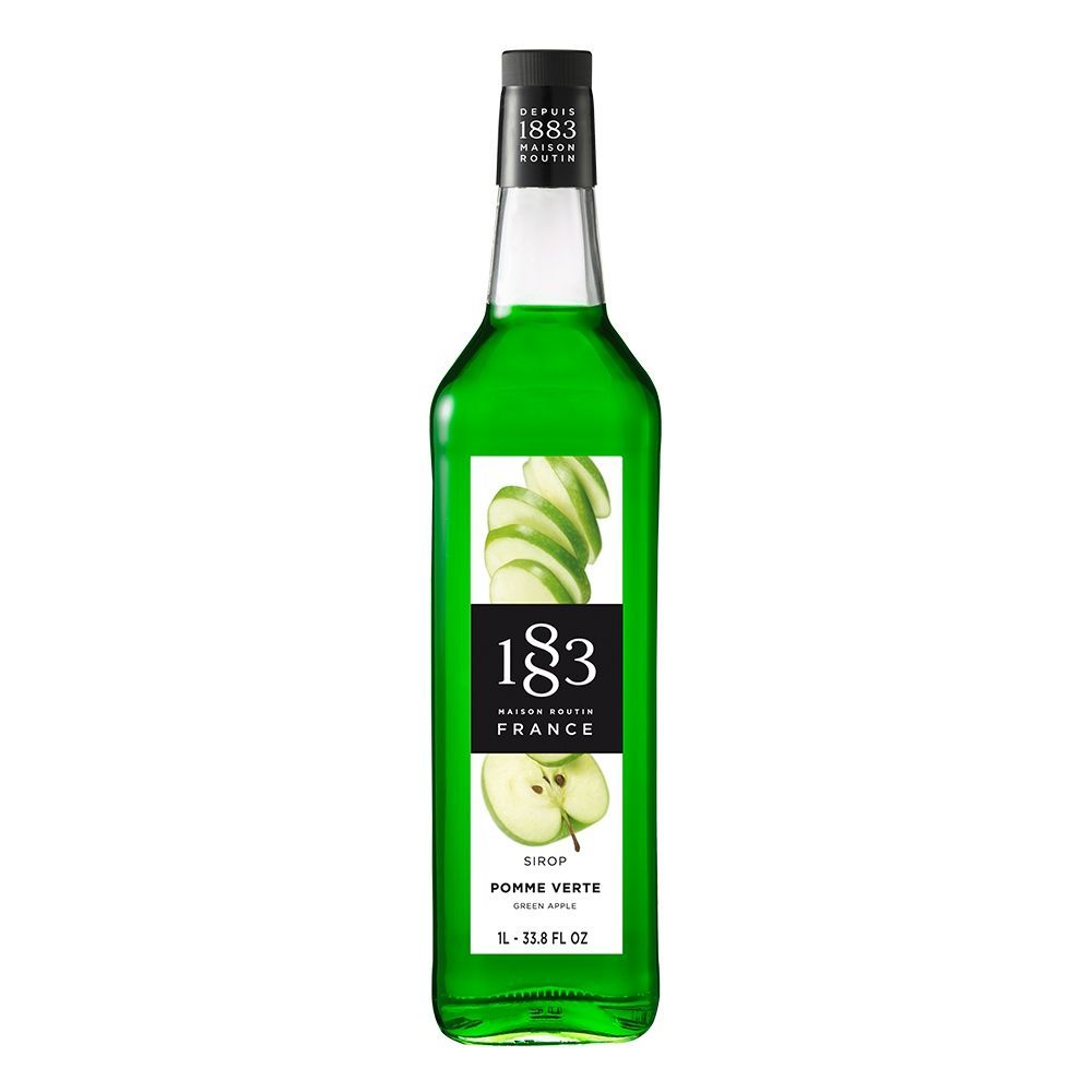1883 Maison Routin Green Apple Syrup (1L)