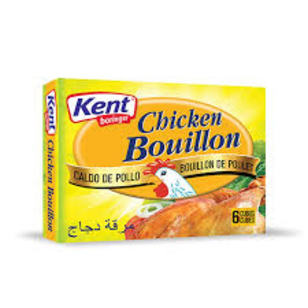 Kent Cube Chicken Bouillon 60 Gm Pack Of 6