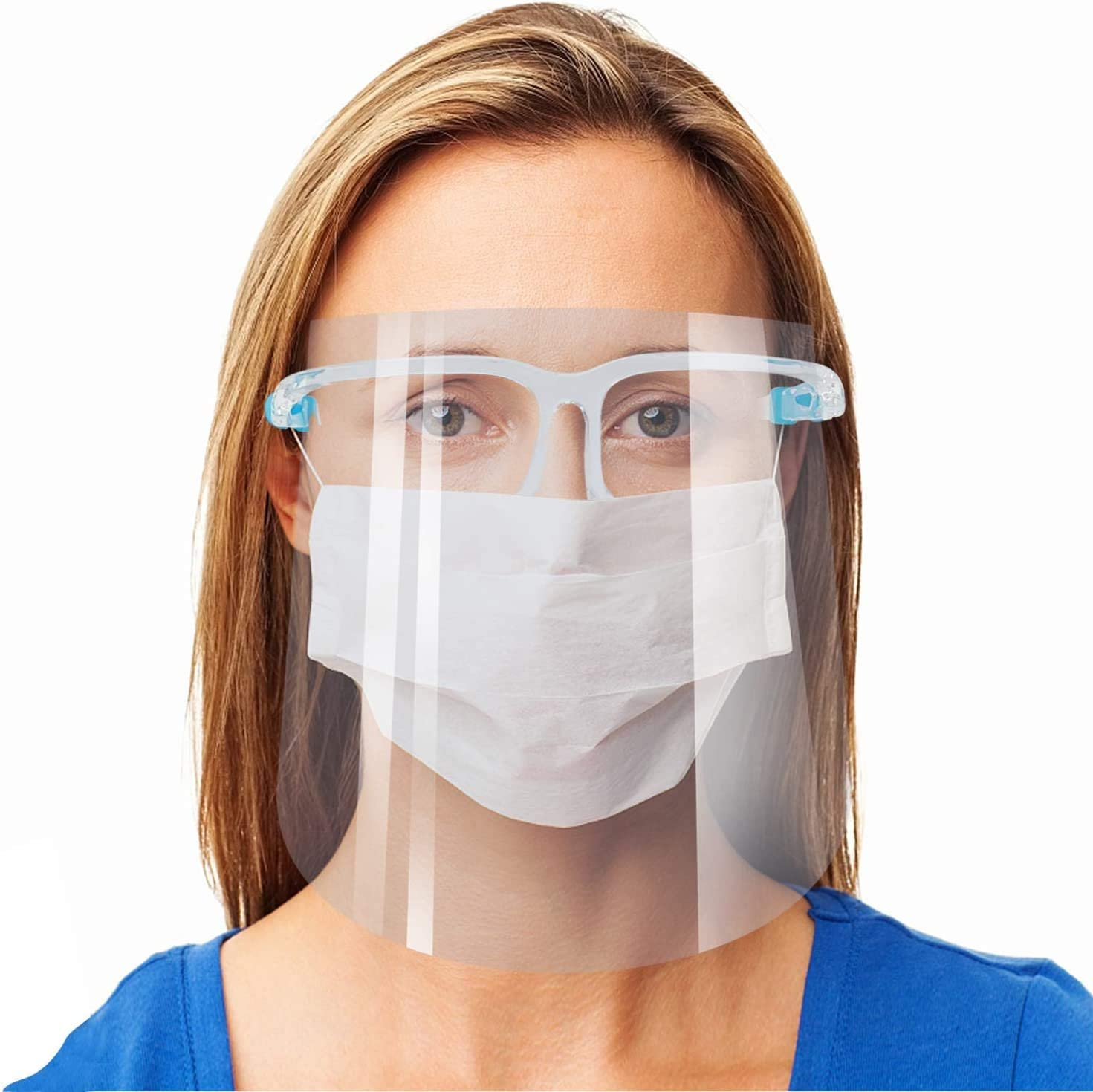 Face Shield with Glass Frame (Pack of 5)