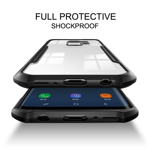Luxury Shockproof Bumper Case For The Samsung Galaxy S9 Plus