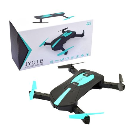 2.0MP Camera 1080P Wifi FPV Foldable Selfie Pocket RC Drone Quadcopter