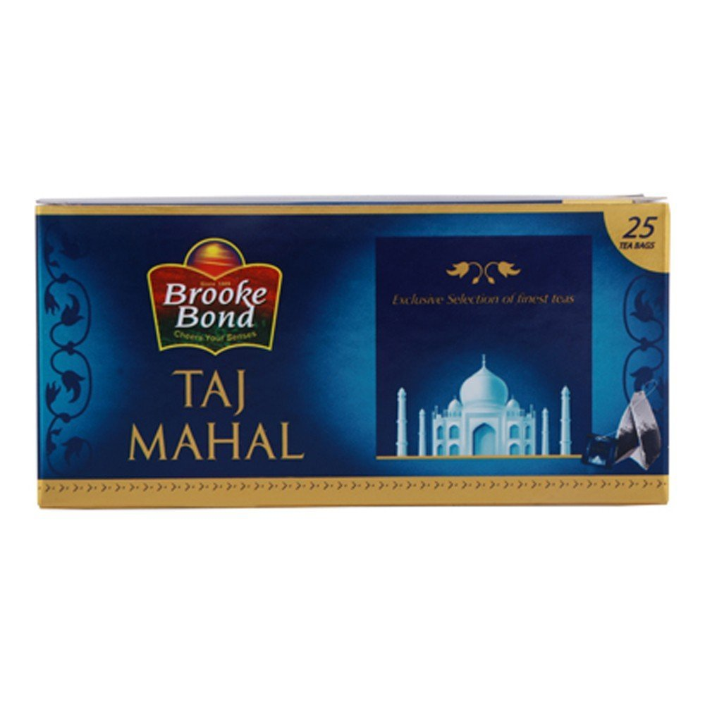 Taj Mahal Tea Bag  25 teabags 47.5 gm