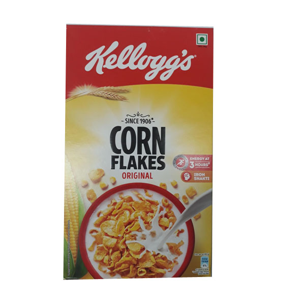 Kellogg's Corn Flakes Breakfast Cereal - 475gm