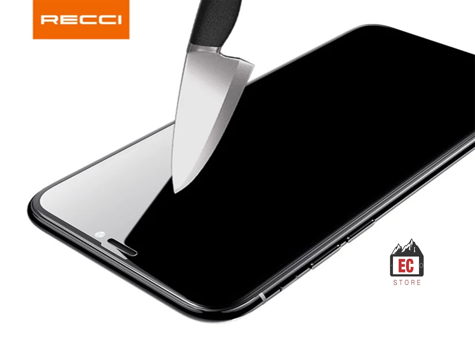 Recci Hong Kong Brand 3D Protector Glass For I phone 11- Full Curved Edge to Edge
