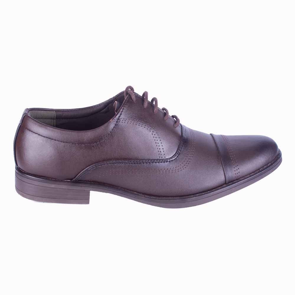 Run Coffee Formal Shoes For Men- 1602