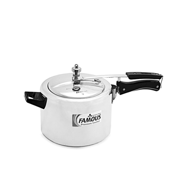 Famous Aluminium Induction Based Pressure Cooker 5 Litres