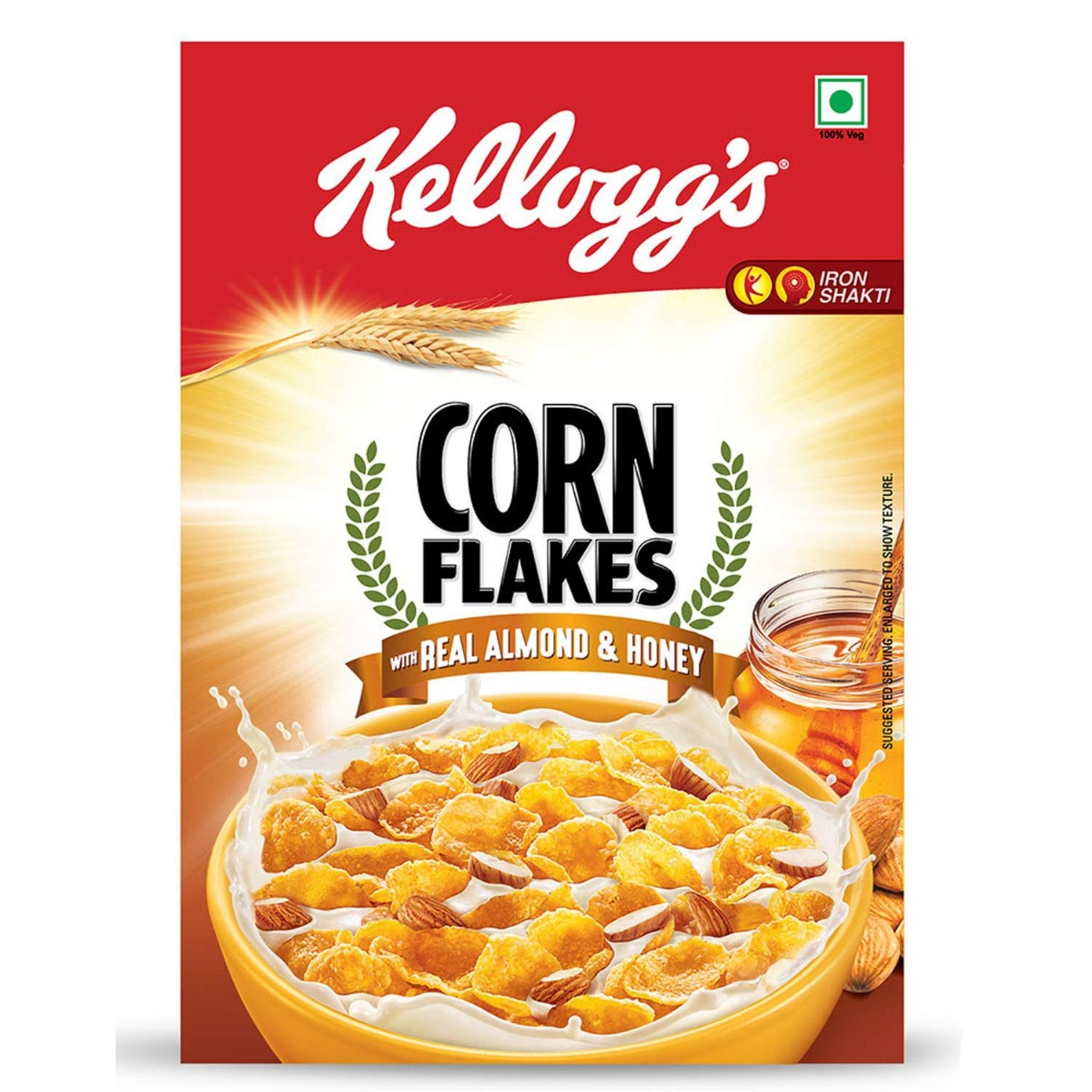 Kellogg's Corn Flakes with Almond and Honey - 300gm
