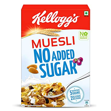 Kellogg's Muesli No Added Sugar Cereals - 500g