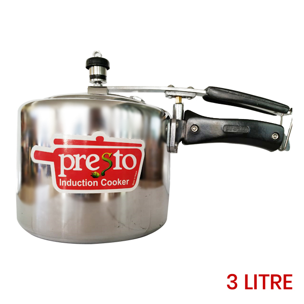 Presto Induction Base Pressure Cooker 3 Litres