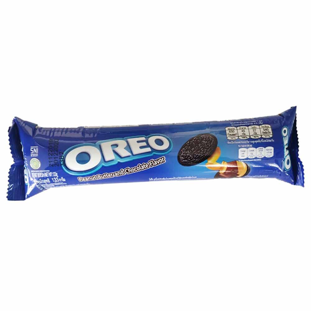 OREO Peanut Butter & Chocolate Flavor Biscuit 133gm