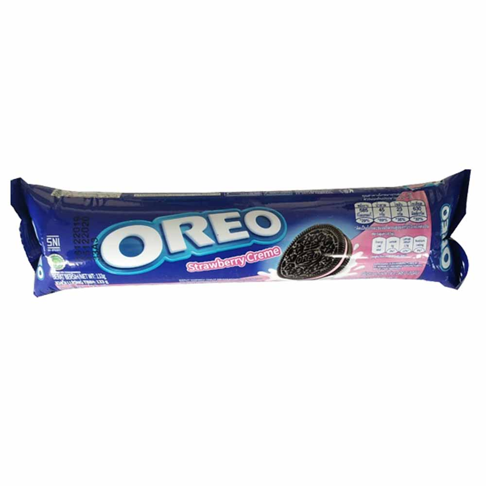 OREO Strawberry Cream Biscuit 133gm