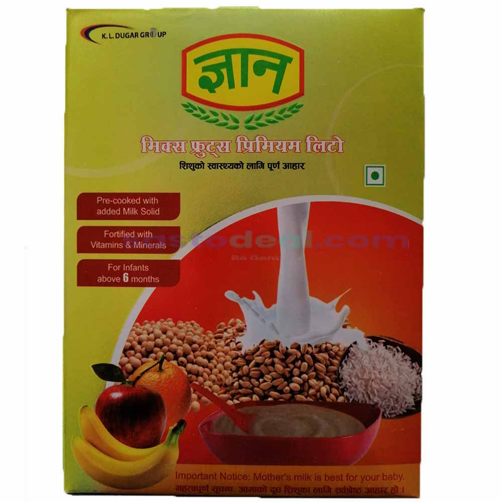 Gyan Premium Litto (Mixed Flavour) 400gm