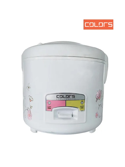 Colors Delux Rice Cooker 2.5 Litre CL-RCJ2500