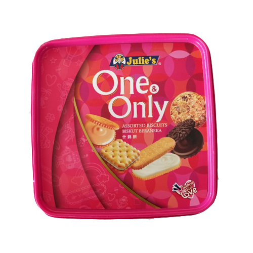 Julies One & Only Assorted Biscuits 530gm