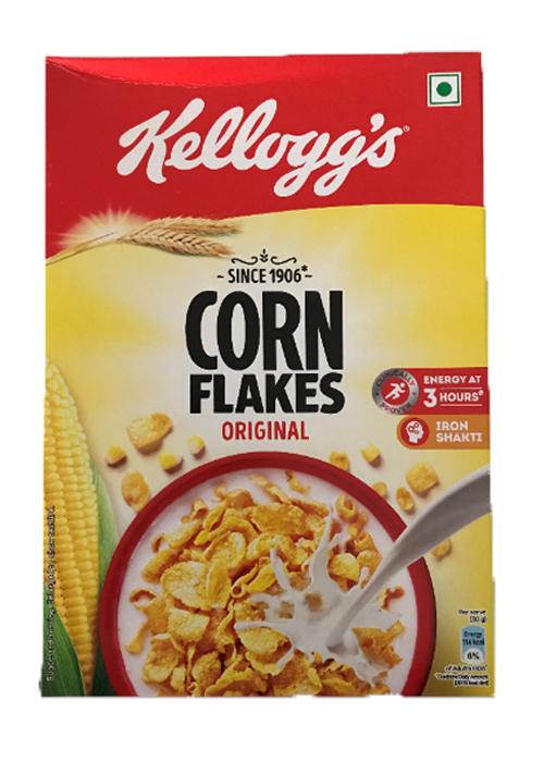 Kellogg's Corn Flakes Original Breakfast Cereal 250gm