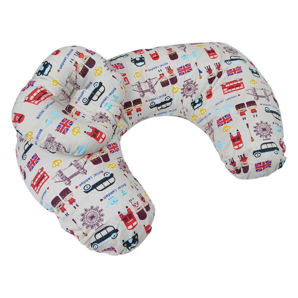 Nursing Pillow With Head Support