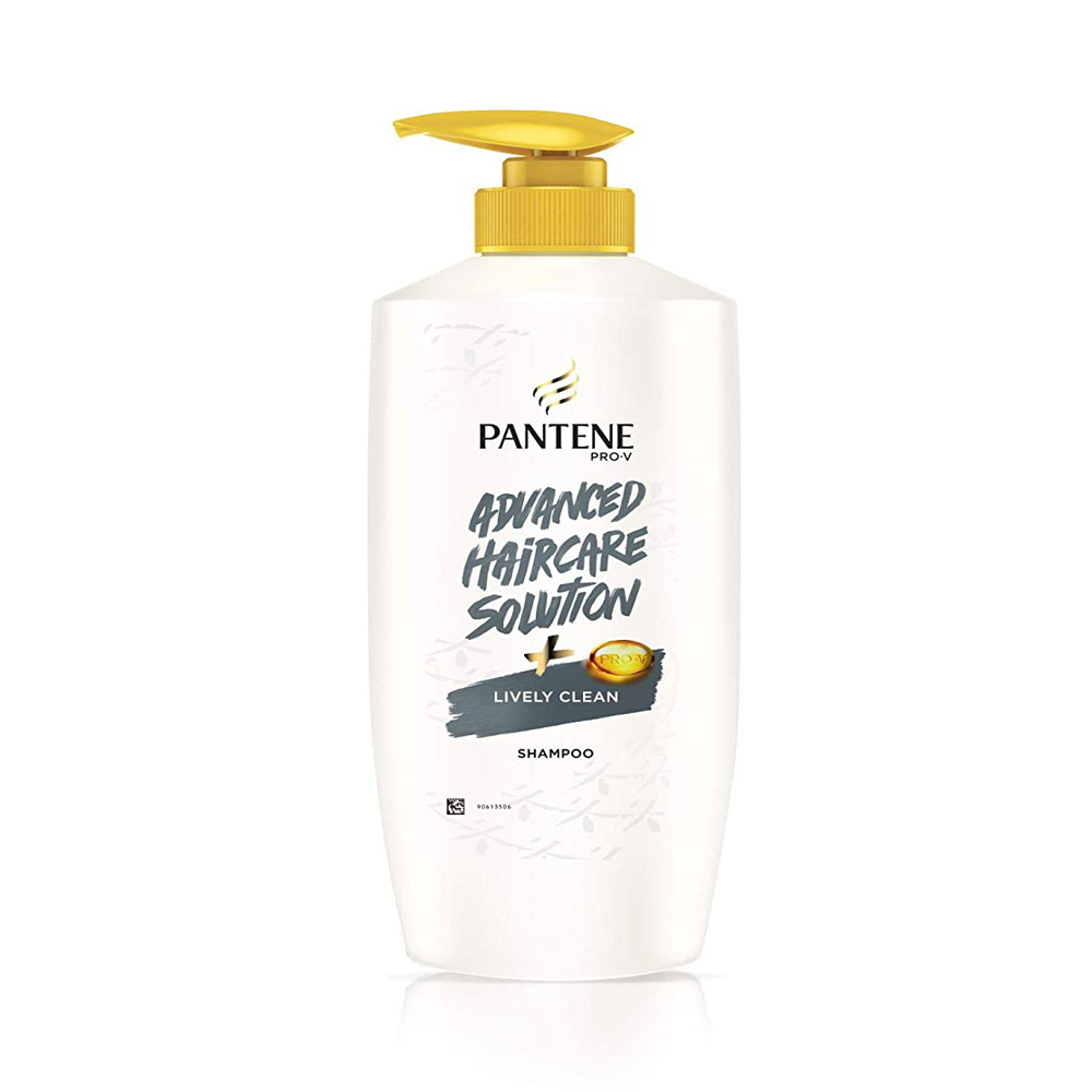 Pantene Pro V Advance Haircare Solution + Lively Clean 650ml