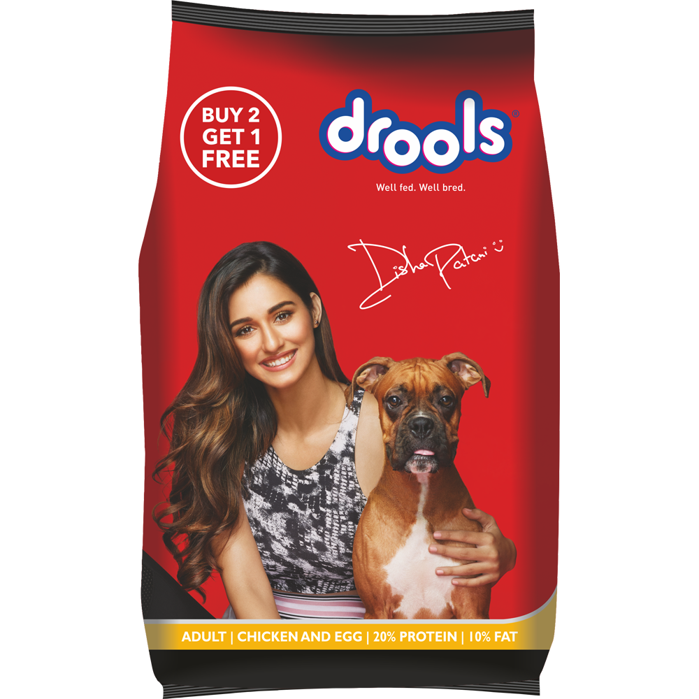 Drools Chicken And Egg Dog Food Adult 400gm