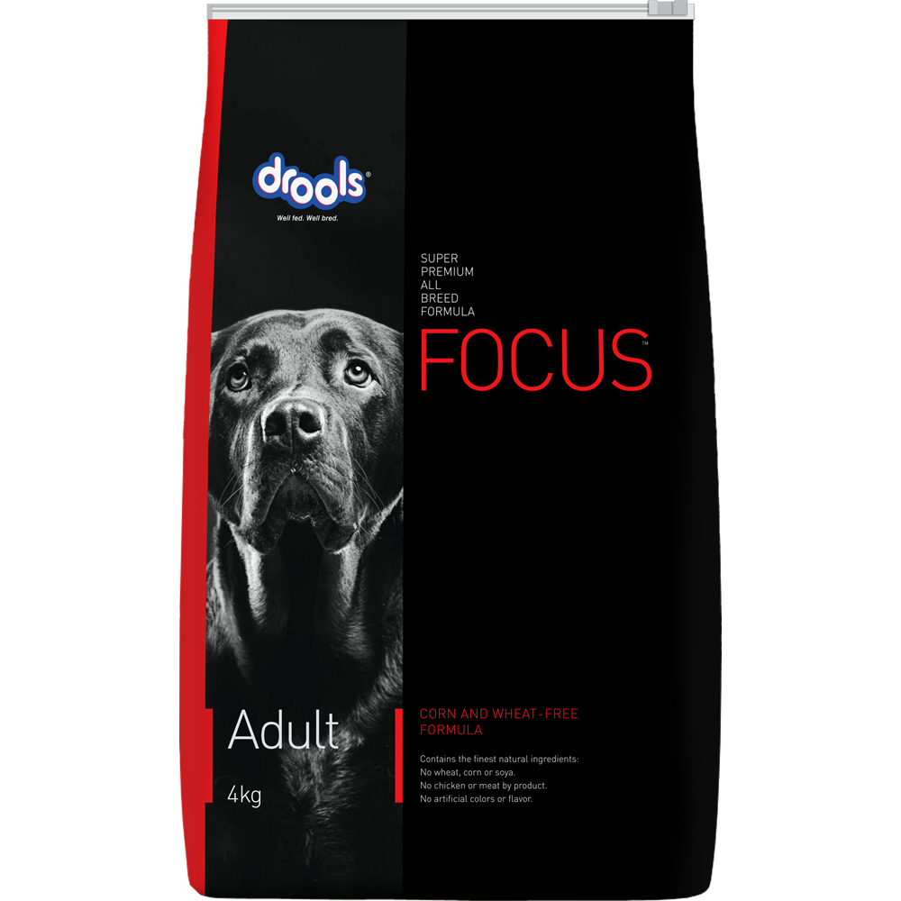 Drools Focus Adult Super Premium Dry Dog Food, 1.2kg