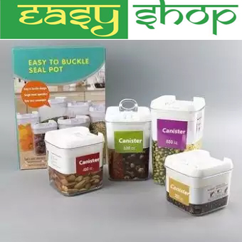 4 Pcs Easy To Buckle Seal Pot
